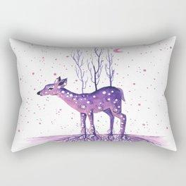 Rooted Deer Rectangular Pillow