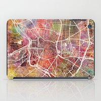 madrid iPad Cases featuring Madrid by MapMapMaps.Watercolors