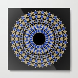 Holiday  Mandala Metal Print