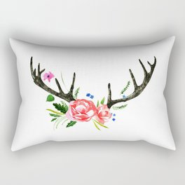 Flore Antler Rectangular Pillow