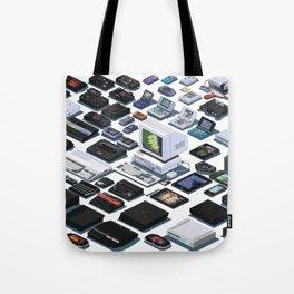 A Pixel Retrospective 2 Tote Bag