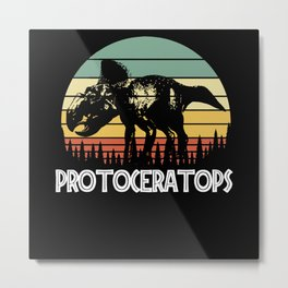 Protoceratops Metal Print