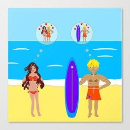 Holiday Romance Canvas Print