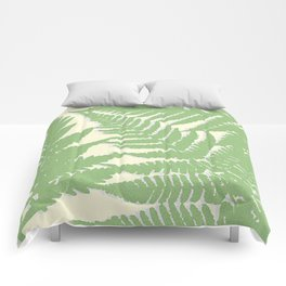 GREEN FERN TRIO No.3 Comforters