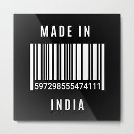 Made In India Metal Print