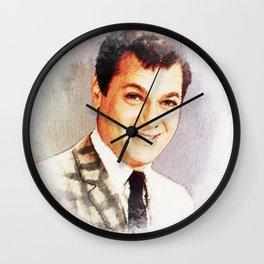Tony Curtis Wall Clock