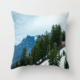 Crater lake-OR Throw Pillow
