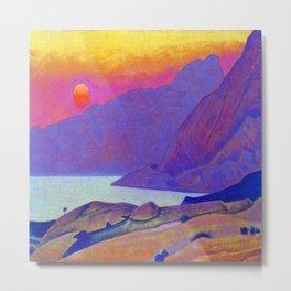 Nicholas Roerich Monhegan Island Metal Print