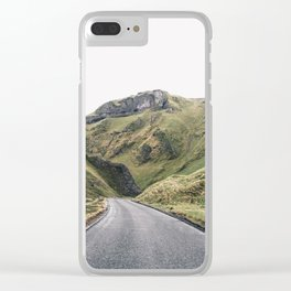 Castleton in the Peak District Clear iPhone Case