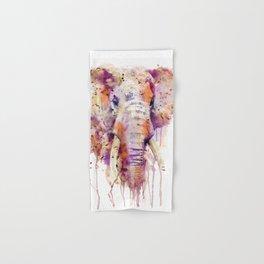Elephant Head Hand & Bath Towel