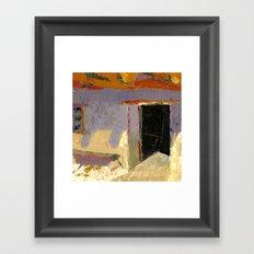 Trading Post Framed Art Print