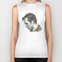 kerouac Biker Tanks featuring Exploding Like Spiders Across The Stars by Adam McDade