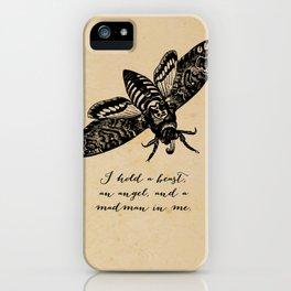 Dylan Thomas - Madman iPhone Case