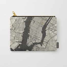 New York - Ink lines Carry-All Pouch