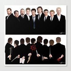 We're All Enemies Here (1 PIECE) Canvas Print