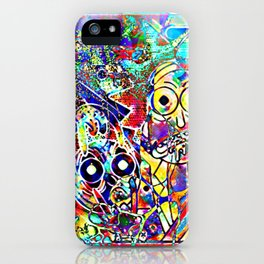 Open your eyes Mort iPhone Case