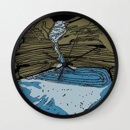 Karijini gorges Wall Clock