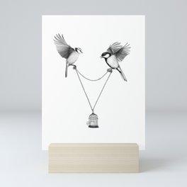 Free spirit Mini Art Print