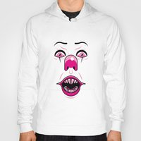 pennywise Hoodies featuring Pennywise by LuisD