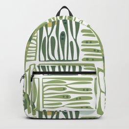 Seaweed pattern Backpack