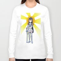 kill la kill Long Sleeve T-shirts featuring Kill la kill - SATSUKI  by Fenlaf