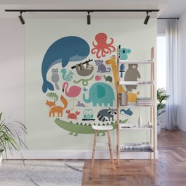 We Are One Wall Mural