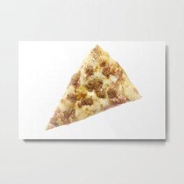 Slice of Pizza Metal Print