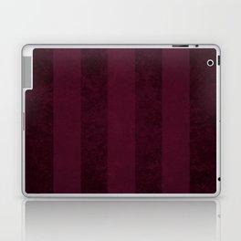 Red Wine Stripes Laptop & iPad Skin