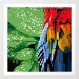 Brasil Tropical Art Print