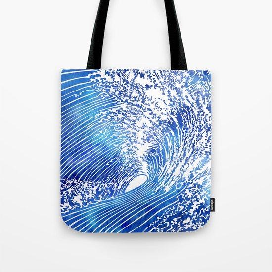 Blue Wave II Tote Bag