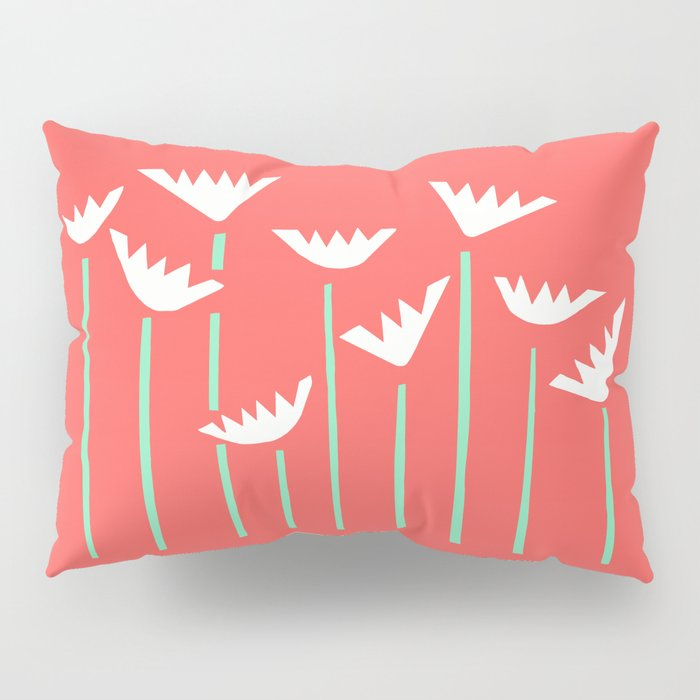Bright Tropical Collage Pillow Sham