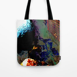 Ripples of Colour Tote Bag