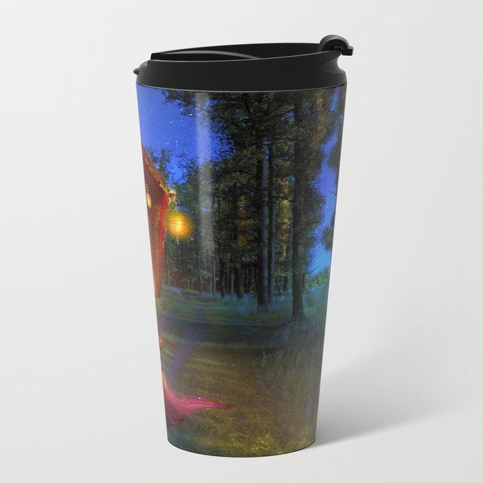 Wanderlust Metal Travel Mug