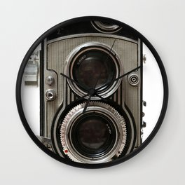 Vintage Camera 01 Wall Clock