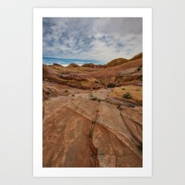 9758 Valley_of_Fire State Park, Nevada Art Print
