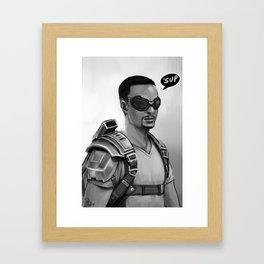 'Sup Framed Art Print