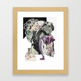 Lean Into It / Sweet Chaos Framed Art Print