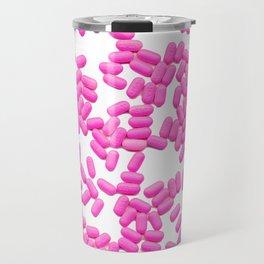 Pink Pills Allergy Meds Travel Mug