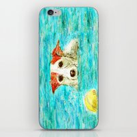 jack russell iPhone & iPod Skins featuring Jack Russell Terrier by gretzky