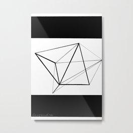 non existent shape Metal Print