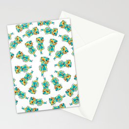 Synchronized Otters - Swim - 57 Montgomery Ave Stationery Cards