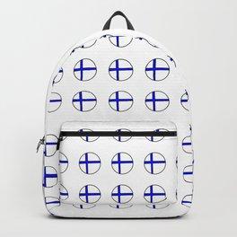 Flag of Finland 5 -finnish, Suomi, Sami,Finn,Helsinki,Tampere Backpack