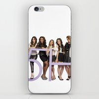 fifth harmony iPhone & iPod Skins featuring fifth harmony best design home decoration ideas by customgift