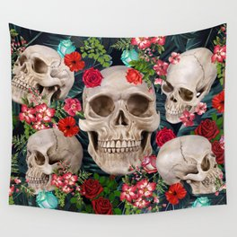 tropical scary  Wall Tapestry