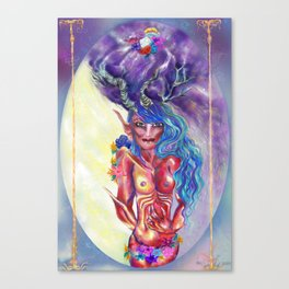 Sweet Devil Canvas Print