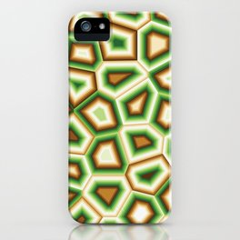 Hypnose verte iPhone Case