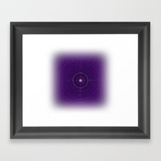 Space Bass Framed Art Print