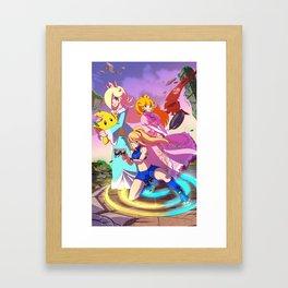 Super Smash Sisters Framed Art Print