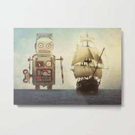 sailing takes me away... Metal Print
