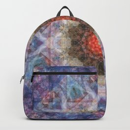 Penteract # 1 (mandala) Backpack